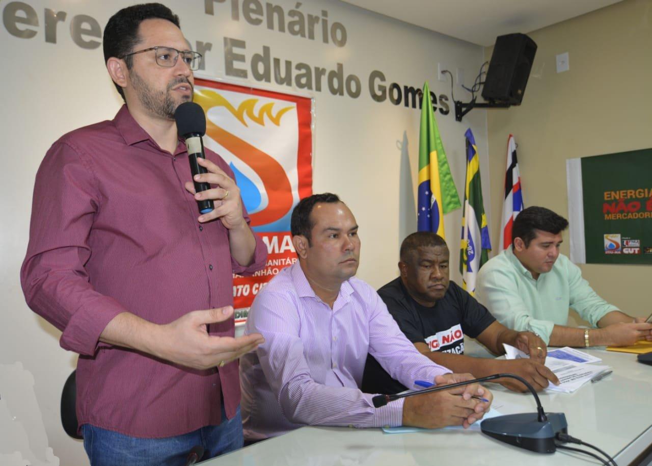 Ciro Neto participa de audiência pública contra a privatização da Eletrobras e Eletronorte