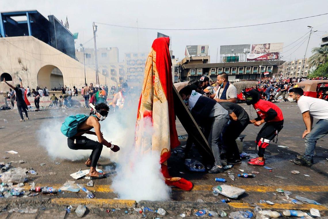 Iraque: 63 pessoas são mortas em dois dias de protestos