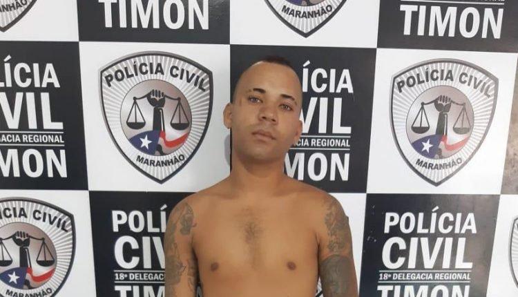 POLÍCIA CIVIL CUMPRE MANDADO DE PRISÃO POR ROUBO EM TIMON