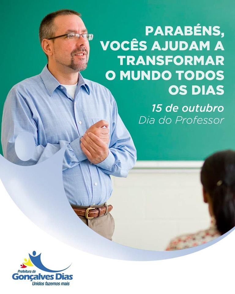 Homenagem do prefeito Tonho Patioba pelo dia dos professores