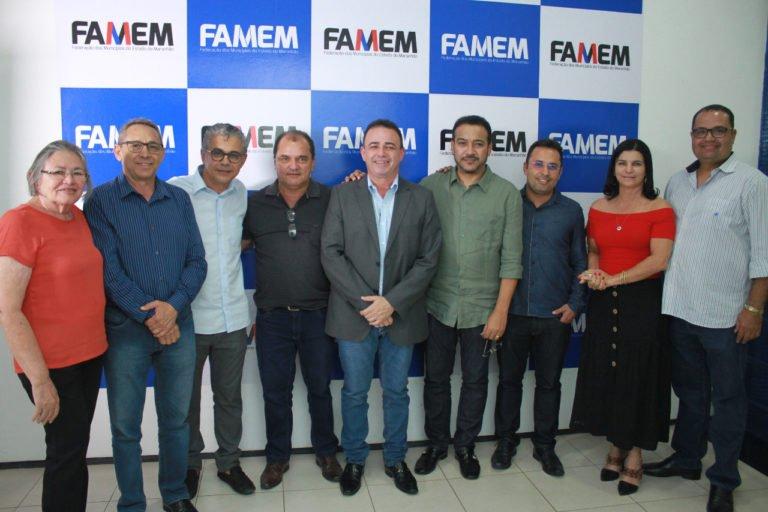 Prefeito de Presidente Dutra Juran, é eleito presidente do Consórcio Maranhão que irá auxiliar nas ações municipalistas