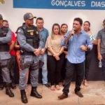 Em solenidade pública o Prefeito Toinho Patioba entrega às polícias  Civil e Militar  a delegacia totalmente reativada
