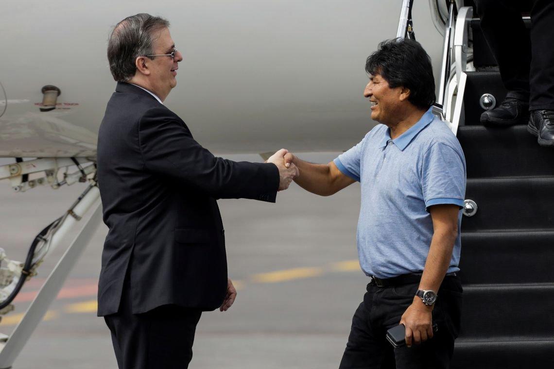 Evo Morales chega ao México e diz que houve golpe de Estado na Bolívi