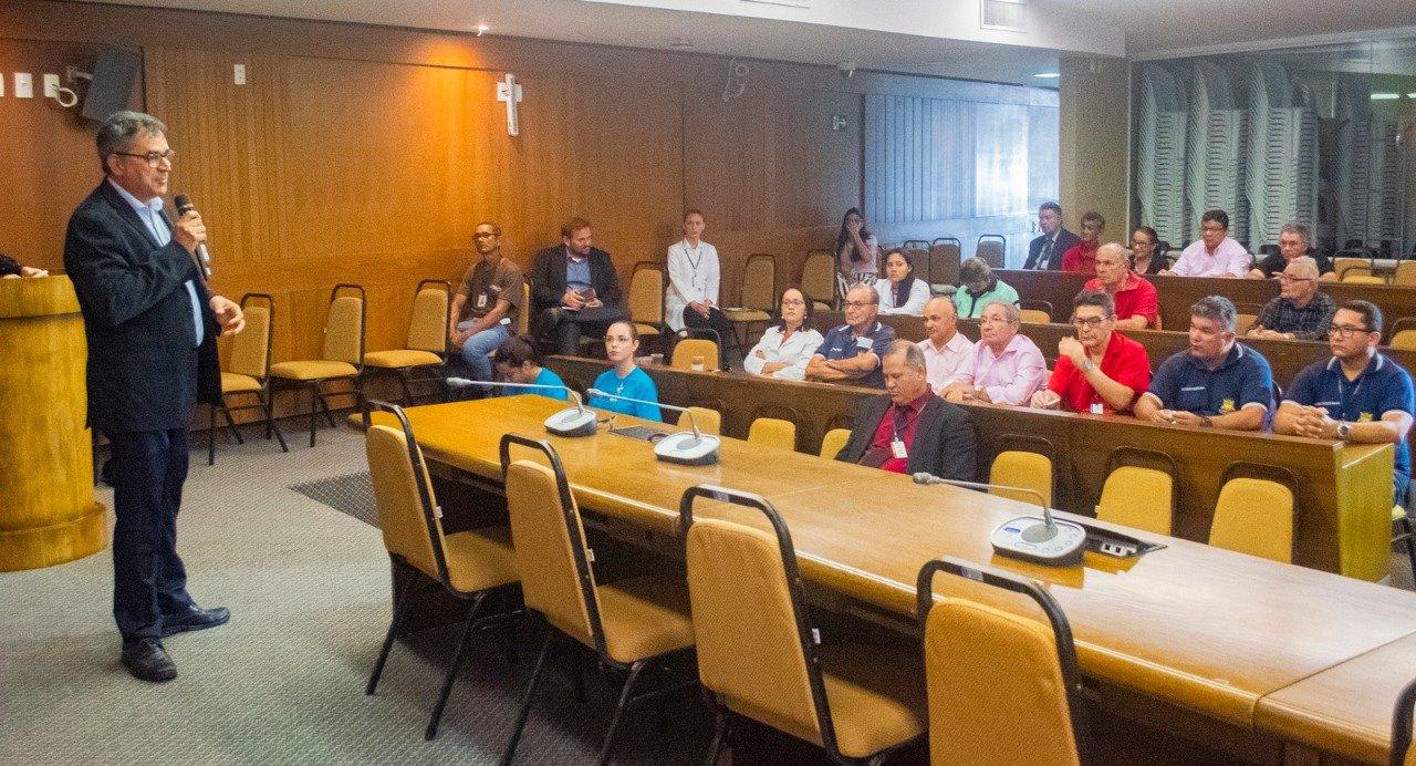 Novembro Azul: Diretoria de Saúde promove palestra de alerta sobre câncer de próstata