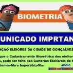 BIOMETRIA: COMUNICADO IMPORTANTE
