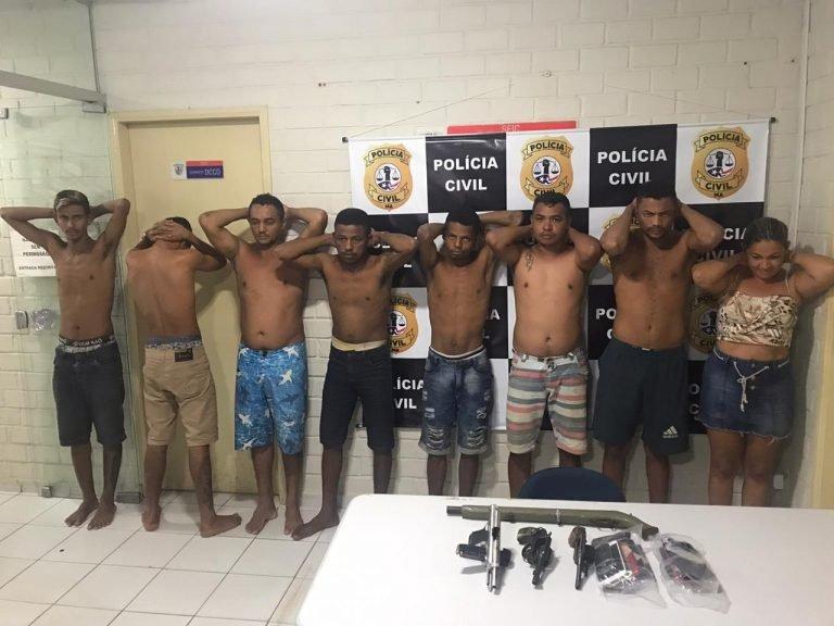 Polícia frustra sequestro de funcionários de banco em Poção de Pedras