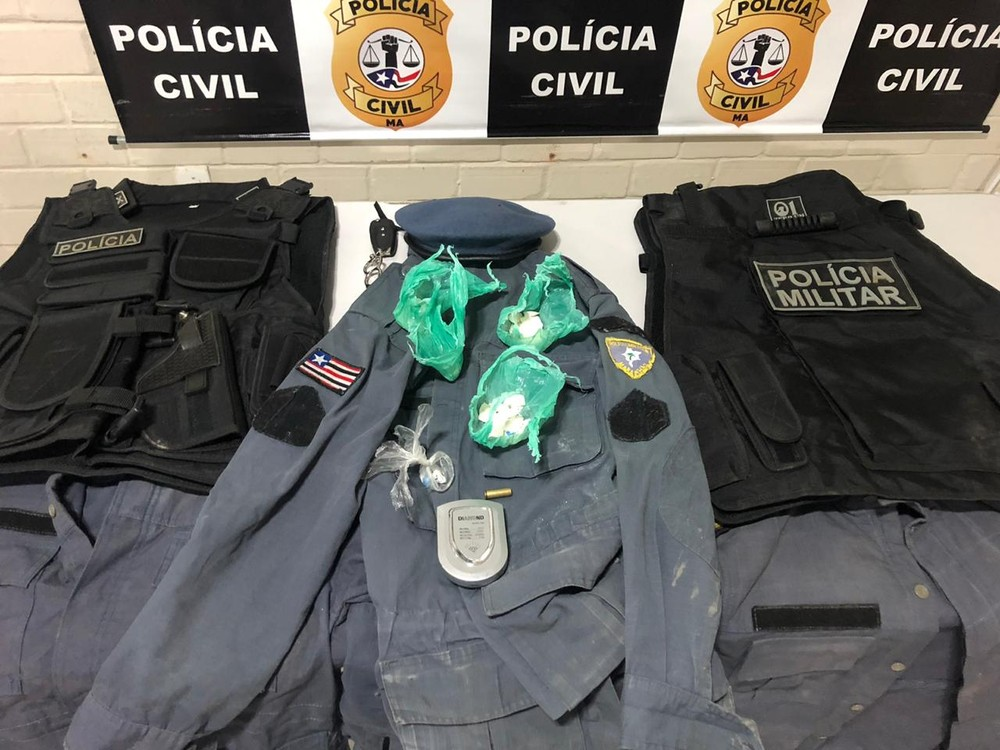 Facção criminosa usava fardas da PM para agir no Maranhão, diz Polícia Civil