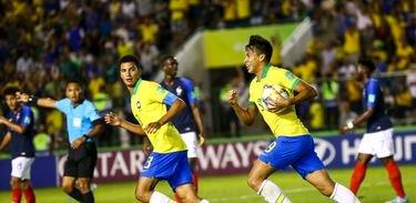 Brasil ganha da França de virada e vai à final do Mundial Sub-17 3 x 2