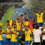Brasil vence México de virada, com gol nos acréscimos do 2º tempo