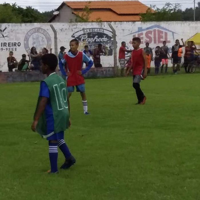 A Escolinha CFC Cabeça Futebol Club de Gonçalves Dias realiza avaliações