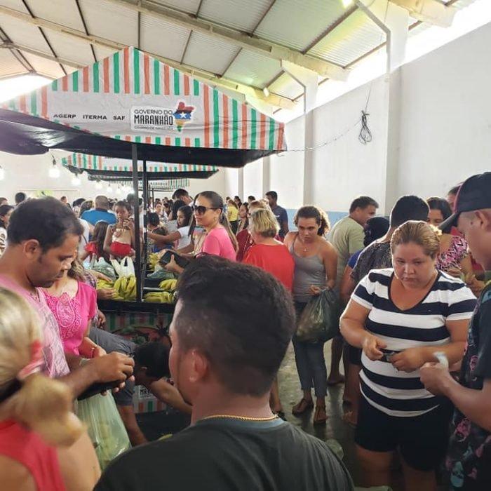 A II FEIRA DO AGRICULTOR FAMILIAR GONÇALVINO, foi um sucesso