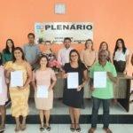Prefeito Toinho Patioba empossa  05 novos conselheiros tutelares em Gonçalves Dias
