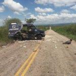 Bandidos explodem carro forte  entre Serrita e Serrita no Sertão de Pernambuco