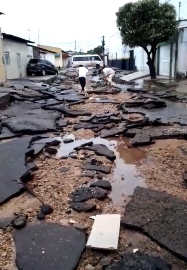 Fortes chuvas deixaram Imperatriz em estado de calamidade