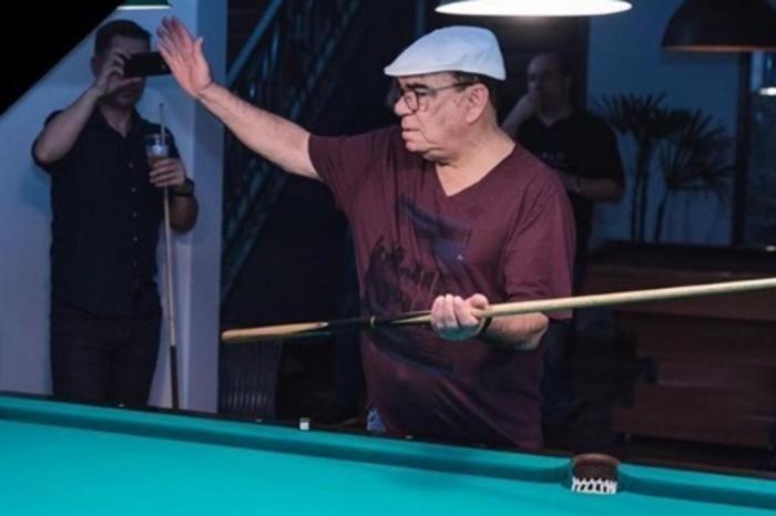 Morre Rui Chapéu, um dos maiores nomes da sinuca brasileira