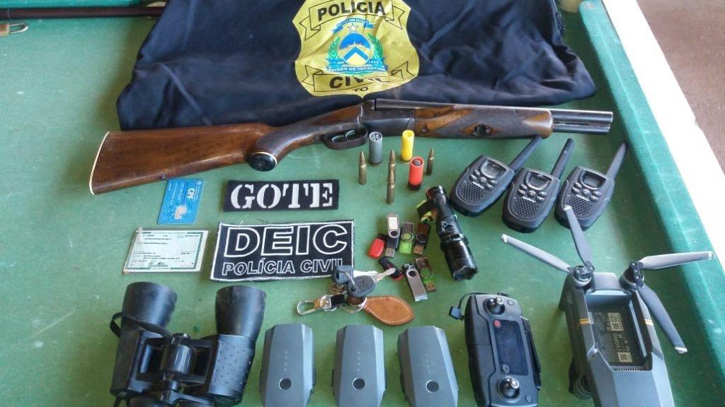 Assaltantes de carro-forte são presos entre Colinas e Arapoema - TO