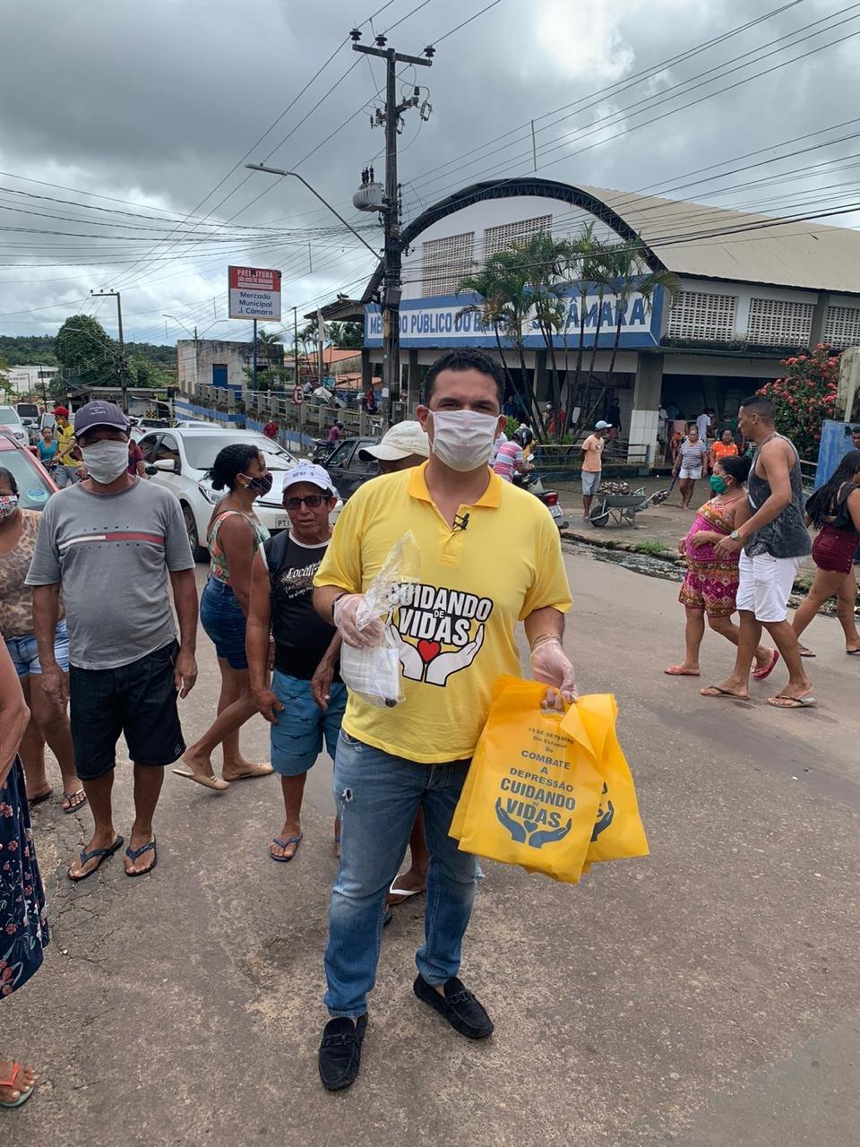 Projeto de Fábio Macedo garante entrega de kits de higiene em Dom Pedro, Peritoró e Timon