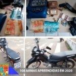 POLICIAIS MILITARES PRENDEM HOMEM POR ROUBO E PORTE ILEGAL DE ARMA DE FOGO EM CAXIAS (MA)
