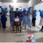 Gonçalves Dias teve seu primeiro paciente curado da COVID-19.
