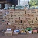 A Polícia Civil apreendeu armas de fogo e 1.880 munições de calibres variados na cidade de Pedreiras
