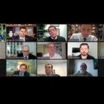 """""""ELEIÇÕES 2020"""" Em reunião com TSE e especialistas da saúde, Davi defende proposta de consenso para adiar eleições"""
