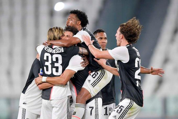 Juventus vence Sampdoria e fatura o Italiano duas rodadas antes do fim