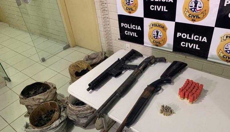 AÇÃO CONJUNTA APREENDE ARMAS DE FOGO EM TUNTUM – MA
