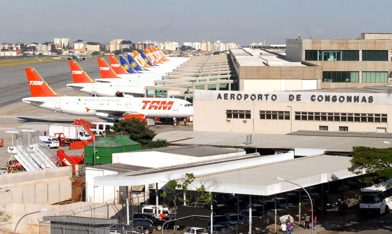 Pista do Aeroporto de Congonhas será reformada a partir de agosto