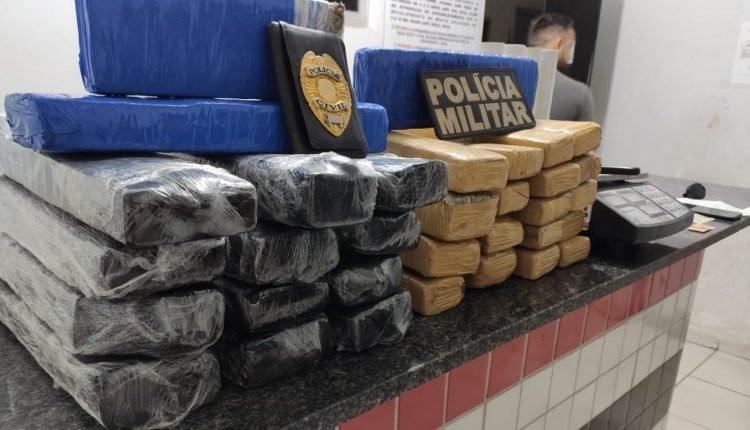 HOMEM É PRESO EMBARCANDO COM DROGAS DE AÇAILÂNDIA PARA SÃO LUÍS