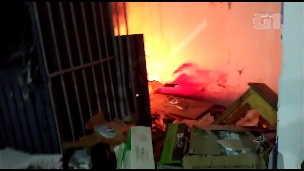 Quadrilha explode agência do Bradesco em Alto Alegre do Maranhão