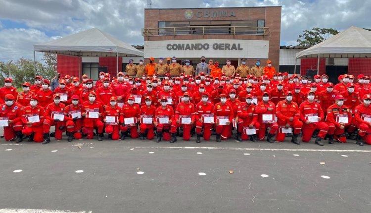 Corpo de Bombeiros do Maranhão realiza solenidade de entrega de certificados