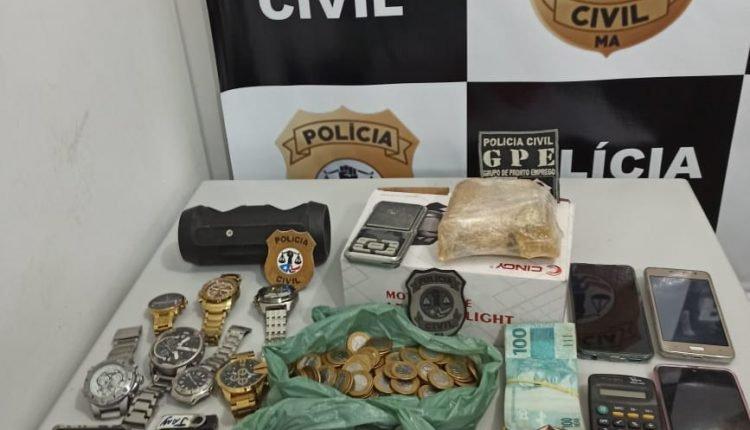 POLÍCIA CIVIL PRENDE HOMEM POR TRÁFICO DE DROGAS EM IMPERATRIZ