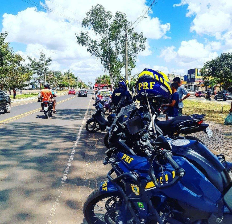 PRF realiza Operação Independência nas rodovias federais do Maranhão