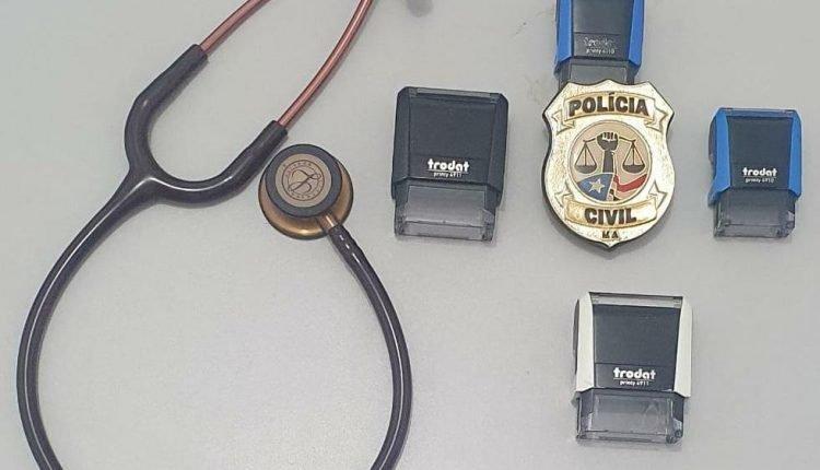 EM DOM PEDRO, POLÍCIA CIVIL PRENDE HOMEM POR EXERCÍCIO ILEGAL DA MEDICINA E FALSIDADE IDEOLÓGICA