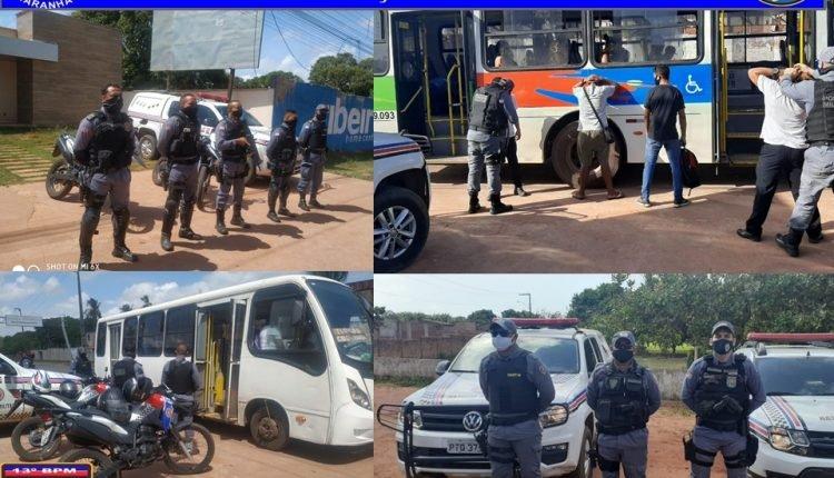 SEM TRÉGUA – POLÍCIA MILITAR FECHA O CERCO CONTRA ASSALTOS A COLETIVOS NA REGIÃO METROPOLITANA DE SÃO LUÍS
