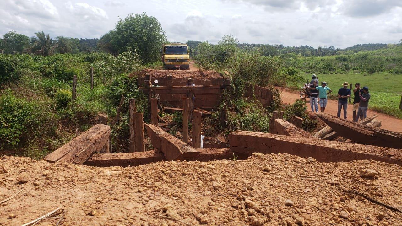 Toinho Patioba dá inicio a recuperação das pontes do município