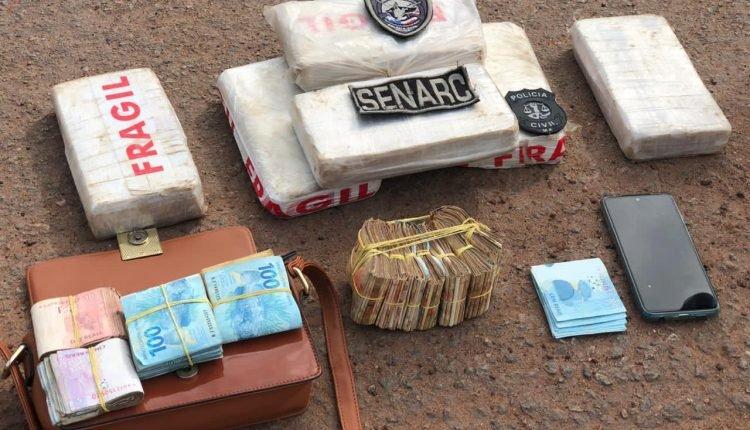 POLÍCIA CIVIL PRENDE TRÊS PESSOAS COM DROGA AVALIADA EM 200 MIL REAIS EM TURILÂNDIA