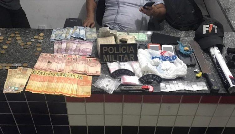 PMMA APREENDE ARMAS E DROGAS DURANTE A OPERAÇÃO AÇAILÂNDIA SEGURA