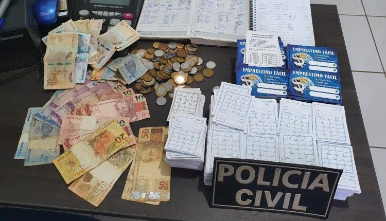 POLÍCIA CIVIL PRENDE COLOMBIANOS SUSPEITOS DE AGIOTAGEM EM MIRANDA DO NORTE