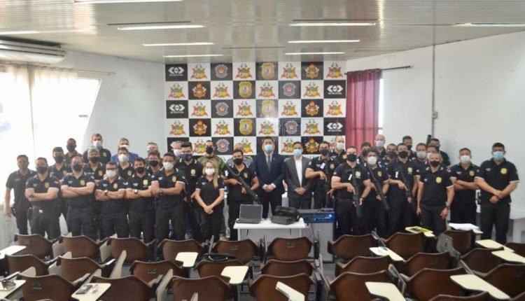 POLÍCIA CIVIL REALIZA CERIMÔNIA DE ENCERRAMENTO DO II CURSO DE FORMAÇÃO DO GRUPO DE PRONTO EMPREGO (GPE/PCMA)