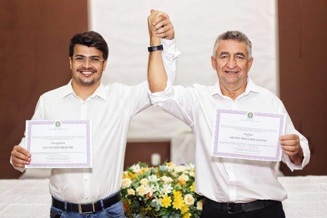 Galego Mota e Lucyan recebem diplomas como prefeito e vice eleitos de Dom Pedro