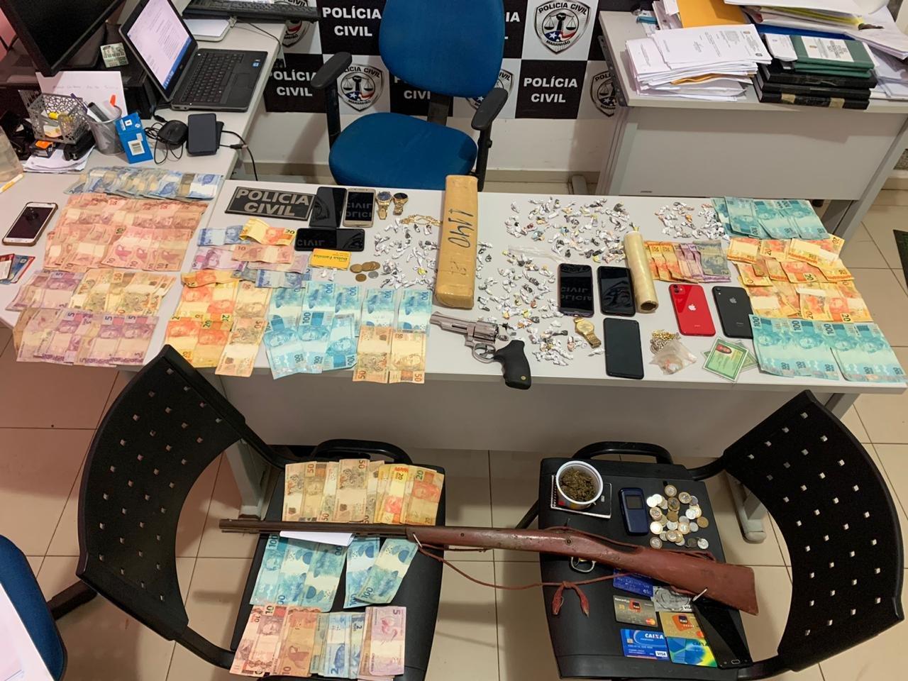 POLÍCIA CIVIL REALIZA SEGUNDA FASE DA OPERAÇÃO TARÔ COM 15 PRISÕES EM MIRANDA DO NORTE/MA