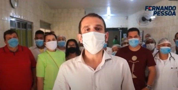 Cleomar Tema abandona o Hospital das Clínicas de Tuntum e prefeito eleito assume compromisso mesmo ante da posse