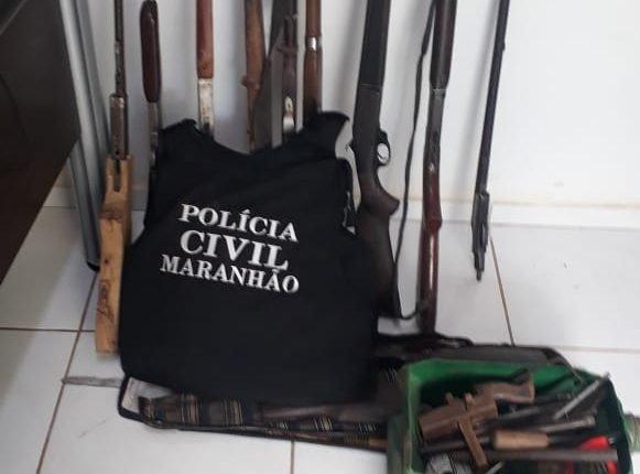 EM TUNTUM, POLÍCIA CIVIL DESATIVA FÁBRICA CLANDESTINA DE ARMA DE FOGO
