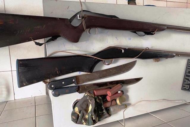 POLÍCIA MILITAR APREENDE DUAS ARMAS DE FOGO NA CIDADE DE CODÓ