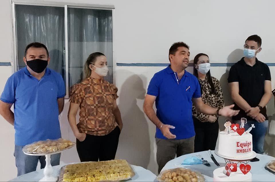 Toinho Patioba apresenta nova equipe que comanda a saúde do município