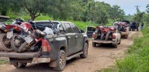 OPERAÇÃO DA POLÍCIA CIVIL APREENDE 12 MOTOCICLETAS ROUBADAS EM QUATRO CIDADES DO MARANHÃO
