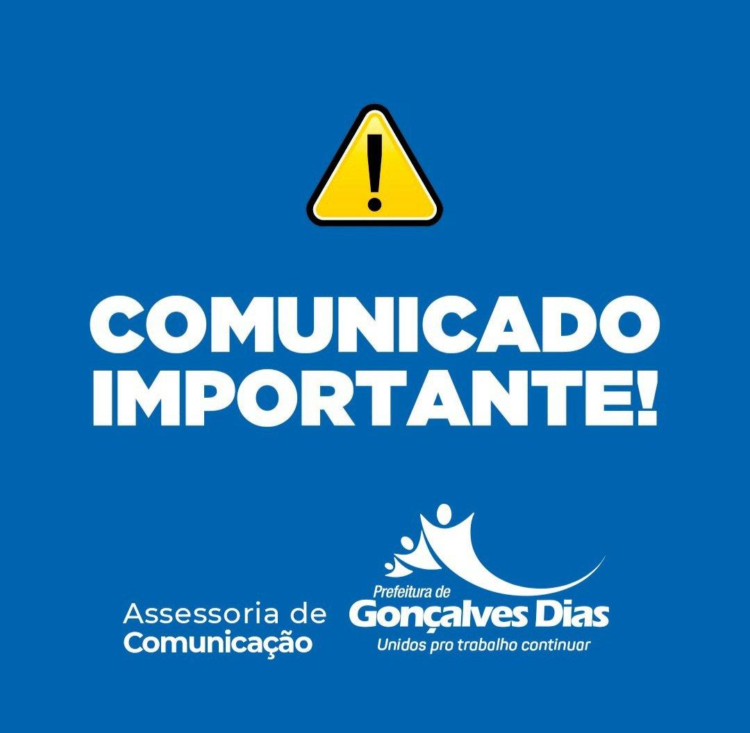 PREFEITURA DE GONÇALVES DIAS CONVOCA SERVIDORES PARA RECADASTRAMENTO