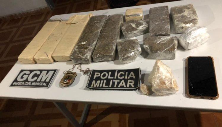 EM BURITI BRAVO, OPERAÇÃO POLICIAL APREENDE 7 QUILOS DE DROGAS