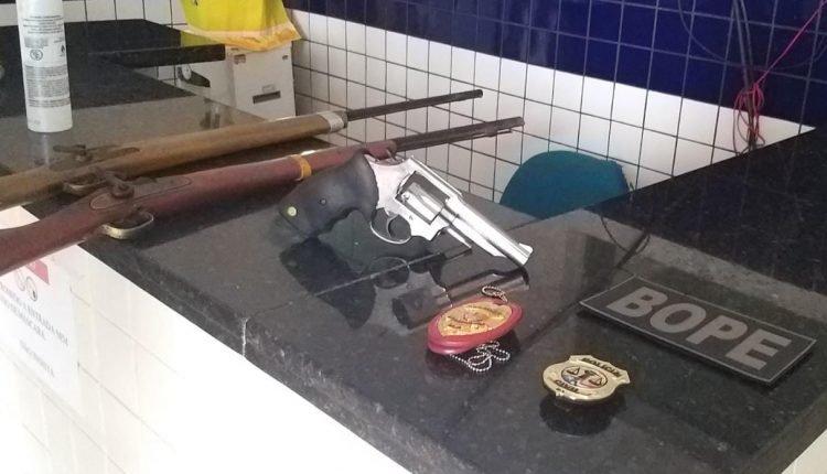 OPERAÇÃO INTEGRADA PRENDE SUSPEITO DE PARTICIPAR DE GRUPO DE EXTERMÍNIO EM SÃO JOÃO BATISTA